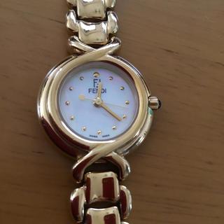 FENDI - 美品 FENDI ゴールドカラー腕時計