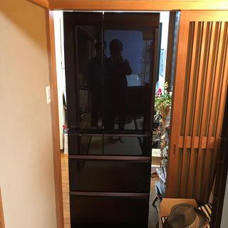 ミツビシデンキ(三菱電機)の★ 三菱 MR-WX61Y BR 冷蔵庫 605L 置けるスマート大容量 ★(冷蔵庫)