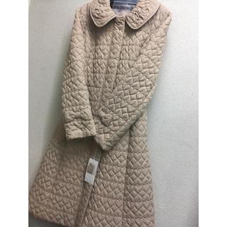 GALLERY VISCONTI - ハートキルティングが可愛い中綿コート