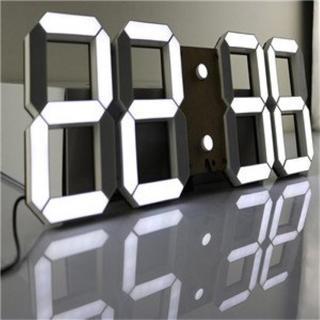 限定1台★ LEDデジタル時計 3Dデザイン 287