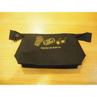 レピピアルマリオ(repipi armario)のレピピアルマリオ ポーチ(黒)(ボトル・ケース・携帯小物)