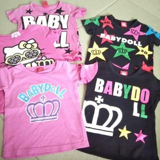ベビードール(BABYDOLL)のbabydoll♥️Tシャツ五点まとめ売り♥️90*100(Tシャツ/カットソー)