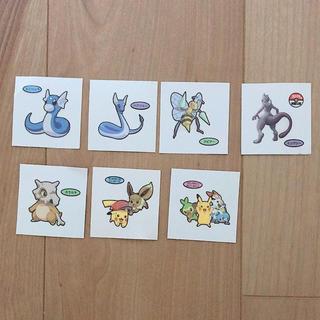 ポケモン - ポケモンシール 7枚