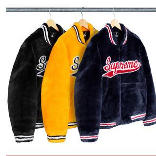 シュプリーム(Supreme)のSupreme Faux Fur Varsity Jacket (毛皮/ファーコート)