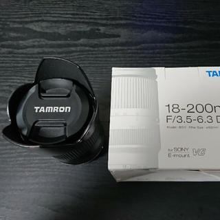 タムロン(TAMRON)の SONY 18-200mm F3.5-6.3 タムロン(ミラーレス一眼)