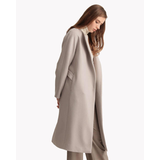 theory - Theory luxe 19AW ノーカラーコート 定価8.7万円
