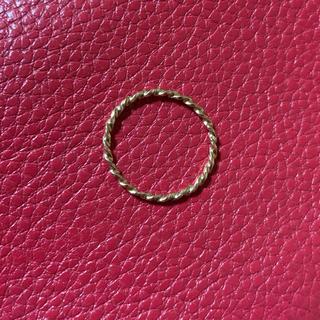 こう様専用 K18ピンクゴールドリング&ブレスレット(リング(指輪))