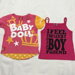 ベビードール(BABYDOLL)のTシャツ(baby doll) キャミソール(FREUDE) まとめ売り(Tシャツ/カットソー)
