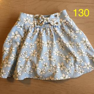 pom ponette - ポンポネット花柄スカート