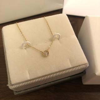 ete -  K10YG ブリリアント ダイヤモンド ネックレス
