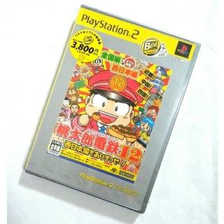 プレイステーション2(PlayStation2)の【新品未開封】 桃太郎電鉄12 西日本編もありませっせー! PS2(家庭用ゲームソフト)