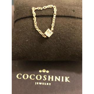COCOSHNIK - ココシュニック ダイヤ K10 チェーン リング