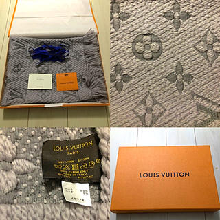 LOUIS VUITTON - 【値下げ】LOUIS VUITTON  ルイヴィトン ロゴマニア マフラー