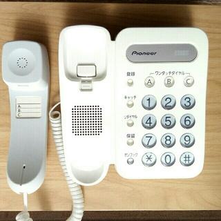 パイオニア(Pioneer)のPioneer 電話機 TF-12(その他)