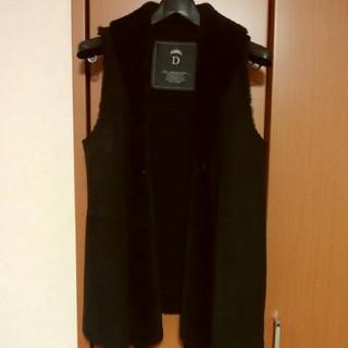 ダブルスタンダードクロージング(DOUBLE STANDARD CLOTHING)の美品‼️ダブルスタンダードクロージング ムートンジレ(ベスト/ジレ)