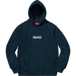 Supreme - Supreme Bandana Box Logo Hooded