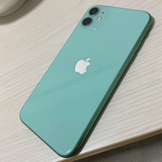 Apple - iPhone11/64G/グリーン/au