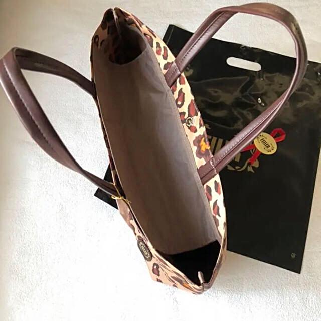 FEILER(フェイラー)の新品 タグ付き フェイラー トートバッグ  ウインターローズ 大判サイズ レディースのバッグ(トートバッグ)の商品写真