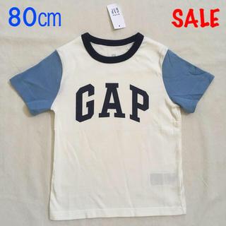 babyGAP - SALE『新品』babyGap ユニセックス ロゴ半袖Tシャツ 80㎝