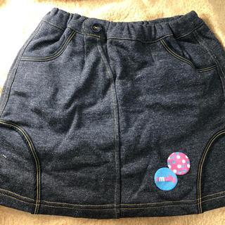 フェリシモ(FELISSIMO)の130cm 新品 デニム調スカート(スカート)