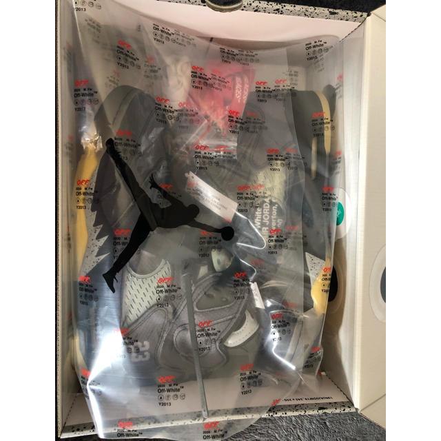 NIKE(ナイキ)のイト様専用 NIKE エアジョーダン5off-white jordan5  メンズの靴/シューズ(スニーカー)の商品写真