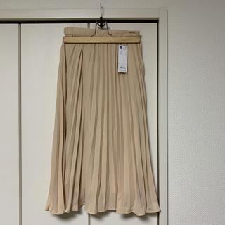 GU - 新品タグ付きプリーツスカート