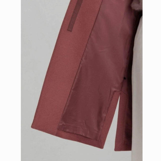 green label relaxing(グリーンレーベルリラクシング)のユナイテッドアローズ グリーンレーベルリラクシング アンゴラビーバー コート レディースのジャケット/アウター(ロングコート)の商品写真