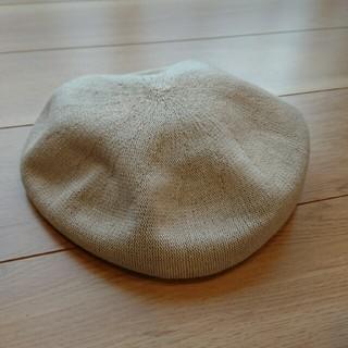 ジーユー(GU)の*美品* 春夏 ベレー帽【GU】(ハンチング/ベレー帽)