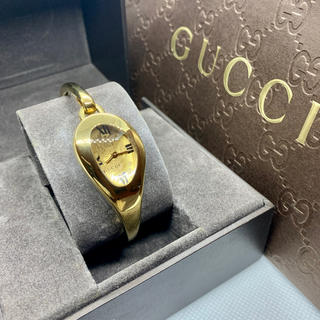 Gucci - GUCCI グッチ ホースビット フローラ バングル レディース腕時計 箱有り