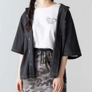 WEGO - ステッチダブルポケットシャツ