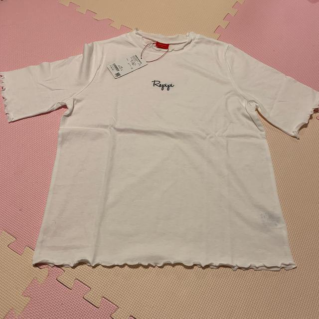 repipi armario(レピピアルマリオ)の新品 repipi armario フリル カットソー キッズ/ベビー/マタニティのキッズ服女の子用(90cm~)(Tシャツ/カットソー)の商品写真