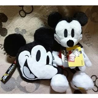 ミッキーマウス(ミッキーマウス)のミッキーマウス90周年 ぬいぐるみ&コインケース(キャラクターグッズ)