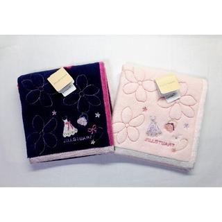 JILLSTUART - 送料無料■ジルスチュアート■桜×ドレス柄 タオルハンカチ■2枚セット ②