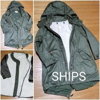 SHIPS - SHIPS/シップス モッズコート レディースS ミリタリー