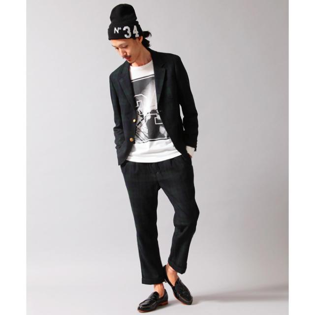 BEAUTY&YOUTH UNITED ARROWS(ビューティアンドユースユナイテッドアローズ)の<MONKEY TIME> フラノ/セットアップ Mサイズ ブラックウォッチ メンズのスーツ(セットアップ)の商品写真