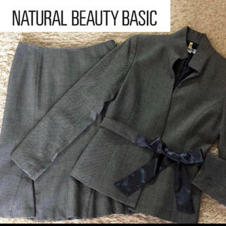 NATURAL BEAUTY BASIC - NATURAL  BEAUTY  BASIC   セットアップ 卒業入学式
