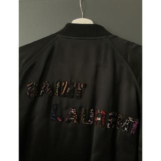 サンローラン(Saint Laurent)のSaintLaurent Embroidered Logo Vasity(スカジャン)