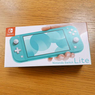 Nintendo Switch - 完品!Nintendo Switch  lite 本体 ターコイズ