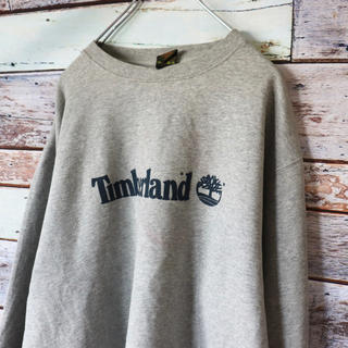 Timberland - ティンバー アメリカ古着 USA 80s 90s ヴィンテージ スウェット L