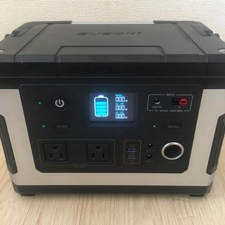 【激安出品】ポ-タブル電源 家庭用蓄電池 車中泊 防災グッズ  動作確認済み