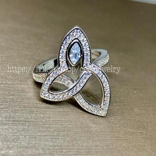 最高品質 SONAダイヤモンド リリークラスター好き 本家仕様(リング(指輪))