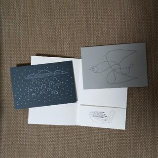 mina perhonen - ミナペルホネン つづく展 前売特典 ポストカード 2枚