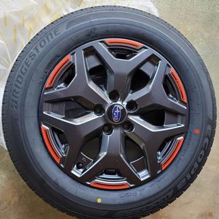 スバル - スバル フォレスター X-BREAK 純正ホイール+タイヤ 新車外し