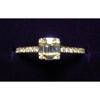 agete - BELLESIORA k18YG ダイヤモンド リング 13号 ¥165,000