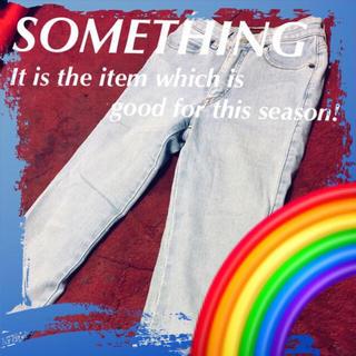 サムシング(SOMETHING)の❇️【SOMETHING】ライク・ア・パーフェクトスカイ☆‼️(デニム/ジーンズ)