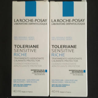 LA ROCHE-POSAY - ラロッシュポゼ  TOLERIANE SENSITIVE RICHE 40ml