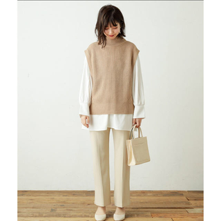 natural couture - 新品未使用 ベスト ブラウス セット
