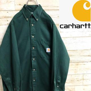 carhartt - *carhartt*カーハート*長袖シャツ*ワークシャツ*Mサイズ*