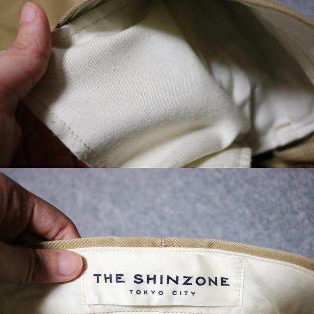 Shinzone(シンゾーン)の【値下げ】THE SHINZONE 別注 ハイウエストチノパンツ レディースのパンツ(チノパン)の商品写真