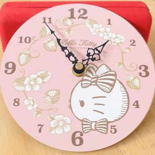 ハローキティ(ハローキティ)のハローキティ掛け時計(掛時計/柱時計)